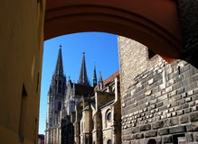 Regensburg Royalty Free Stock Photography