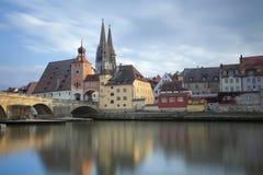 Regensburg. Lizenzfreies Stockbild