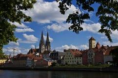 Regensburg lizenzfreie stockfotos