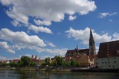 Regensburg stockfotos