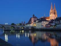 Regensburg Fotografia de Stock Royalty Free