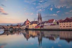 Regensburg Royaltyfria Foton
