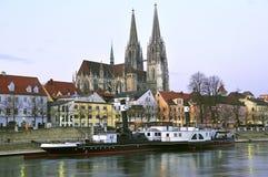 Regensburg, Alemania Fotos de archivo