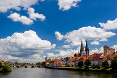 Regensburg Bavaria Royalty Free Stock Photo