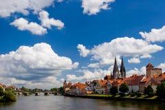 Regensburg Bavaria Royalty Free Stock Photo