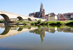Regensburg, Bavaria, Germany, Europe Stock Images