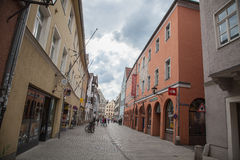 Regensburg-Bavaria-Germany Royalty Free Stock Photos