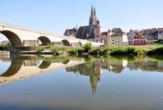 Regensburg, Bavaria, Niemcy, Europa Obrazy Stock