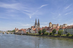 Regensburg - capital of the Upper Palatinate Stock Photos