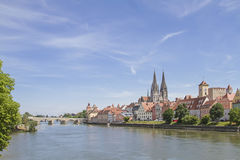 Regensburg - capital of the Upper Palatinate Royalty Free Stock Photos