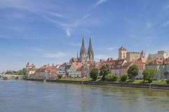 Regensburg - capital of the Upper Palatinate Royalty Free Stock Images