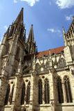Regensburg with Cathedral Royalty Free Stock Photo