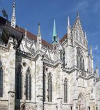 Regensburg Cathedral Royalty Free Stock Photo