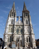 Regensburg Cathedral Royalty Free Stock Photography
