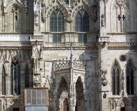 Regensburg Cathedral Royalty Free Stock Images