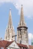 Regensburg Cathedral Stock Photo