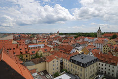 Regensburg city Royalty Free Stock Photography