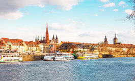 Regensburg city, Bavaria Royalty Free Stock Photography