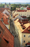 Regensburg gammal stad Royaltyfri Fotografi