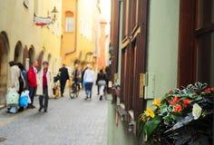 Regensburg gata Royaltyfri Bild