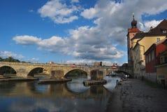 Regensburg german Obrazy Stock