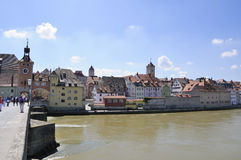 Regensburg, Germany Royalty Free Stock Photography