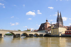 Regensburg, Germany Royalty Free Stock Photos