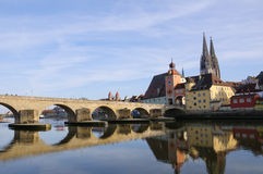 Regensburg, Germany Stock Photography
