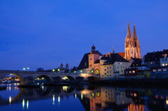 Regensburg, Germany Royalty Free Stock Photo
