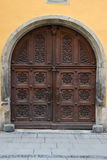Regensburg, Germany doorway Stock Photo
