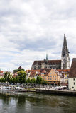 Regensburg, Germany. Royalty Free Stock Photos