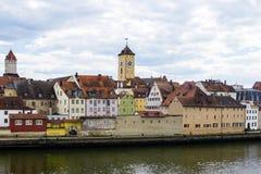 Regensburg, Germany. stock photography
