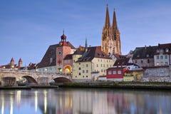 Regensburg. Royalty Free Stock Image