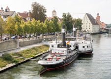 Regensburg Museum of Danube Shipping Stock Image