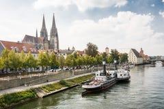 Regensburg muzeum Danube wysyłka Fotografia Royalty Free