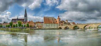 Regensburg (Tyskland) Royaltyfri Fotografi