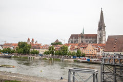 Regensburg Royalty Free Stock Photos