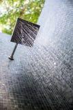 Regenschauer im Freien Stockfoto