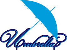 Regenschirm Lizenzfreies Stockfoto