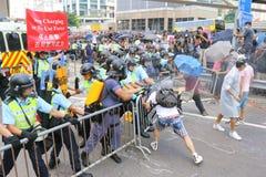 Regenschirm-Bewegung in Hong Kong Lizenzfreies Stockfoto