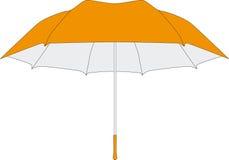 Regenschirm in den Vektoren Lizenzfreies Stockbild