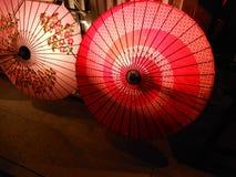 Regenschirm der japanischen Art Stockfotografie