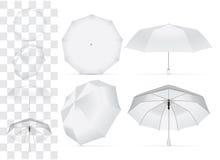 Regenschirm für Ihr Design und Logo lizenzfreie abbildung
