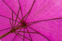Regenschirm mit Purpur Lizenzfreie Stockfotografie