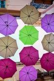 Regenschirm-Partei Stockfotos