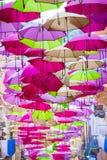 Regenschirm-Partei Lizenzfreie Stockfotografie