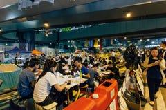 Regenschirm-Revolution in Hong Kong 2014 Lizenzfreie Stockbilder
