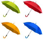 Regenschirm-Satz Lizenzfreies Stockfoto