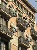 Regenschirm-Skulpturen Stockfotografie