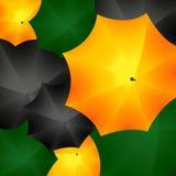 Regenschirm-Tapete Lizenzfreies Stockbild